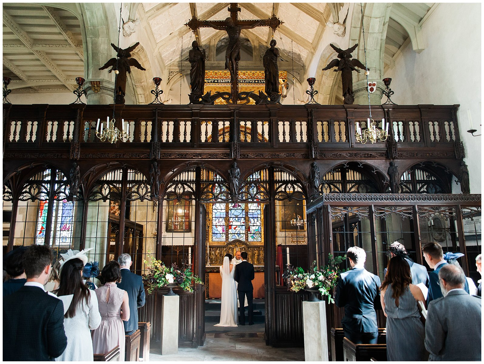 ST GILES CHURCH AUTUMN WEDDING