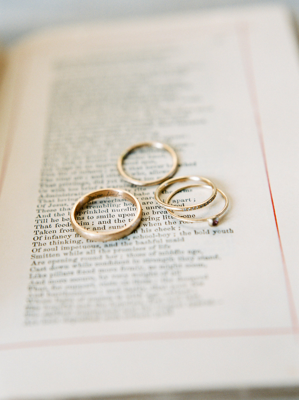 gold rings by michaela roemer