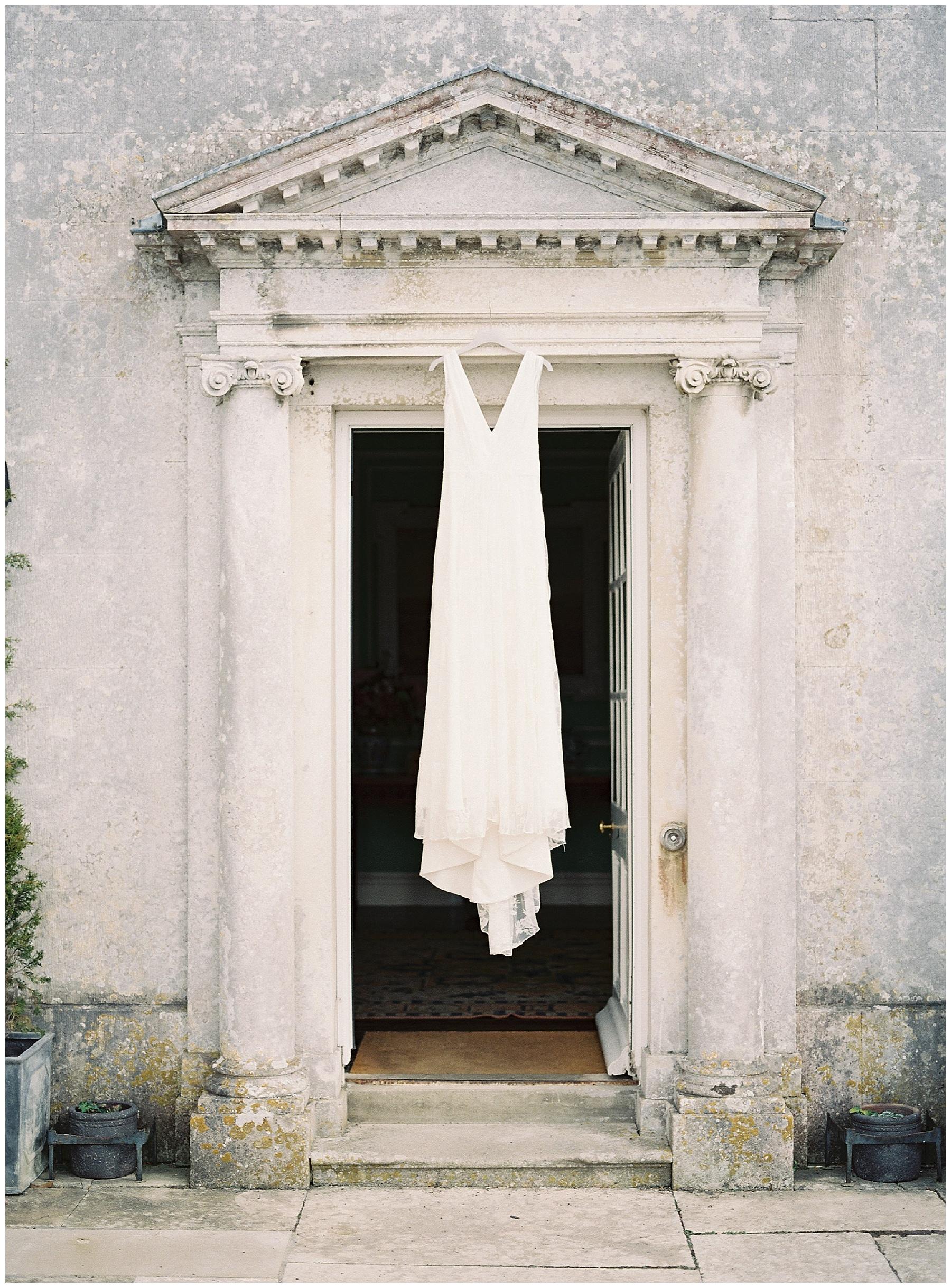 charlie brear wedding dress at smedmore house