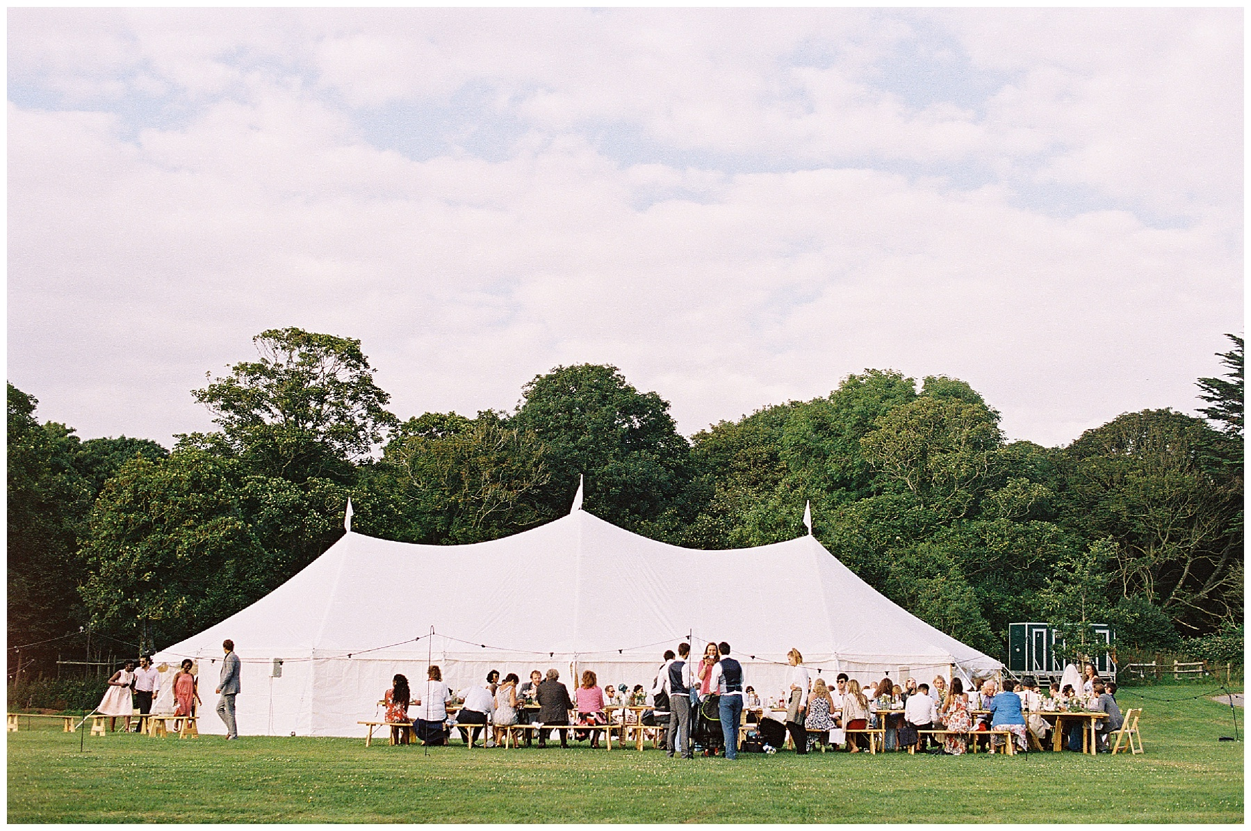 dorset marquee wedding