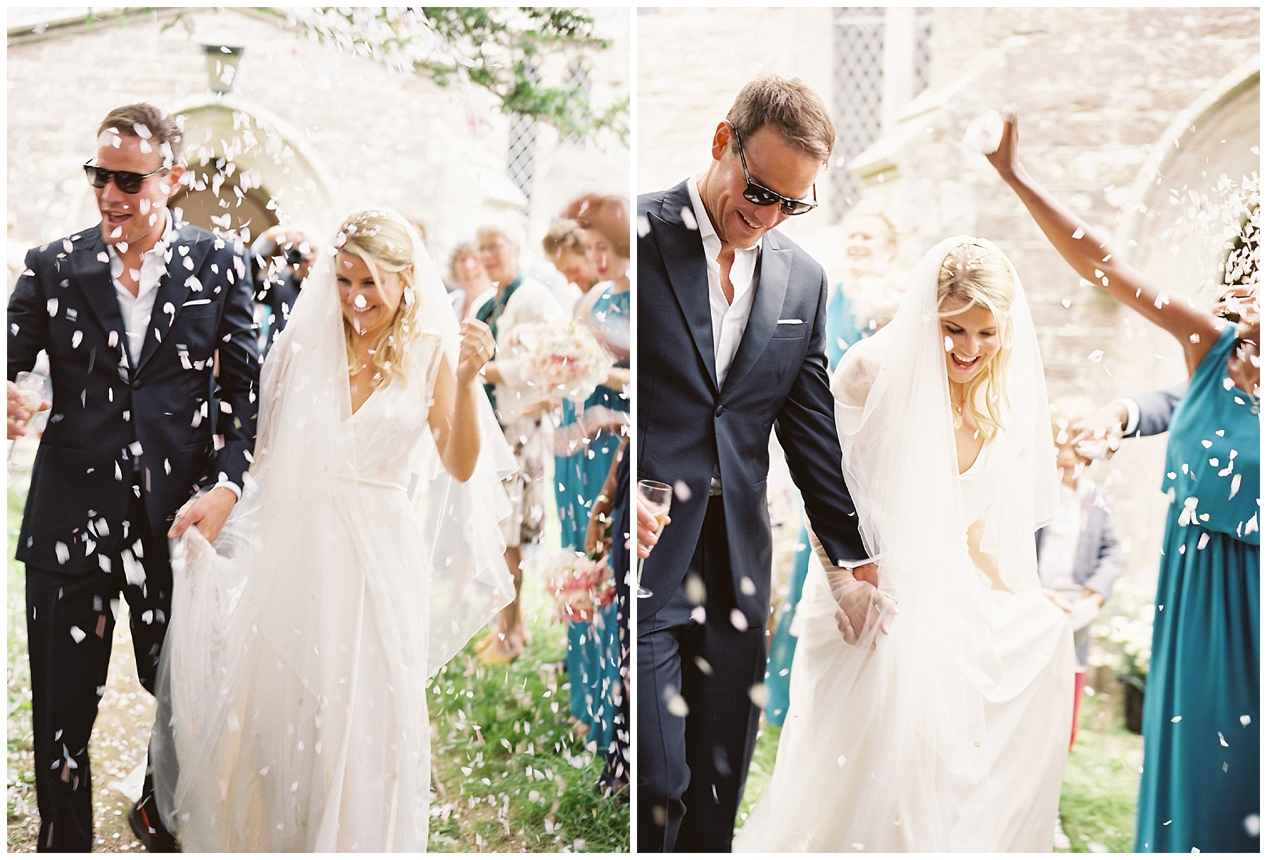 confetti wedding photos charlie brear