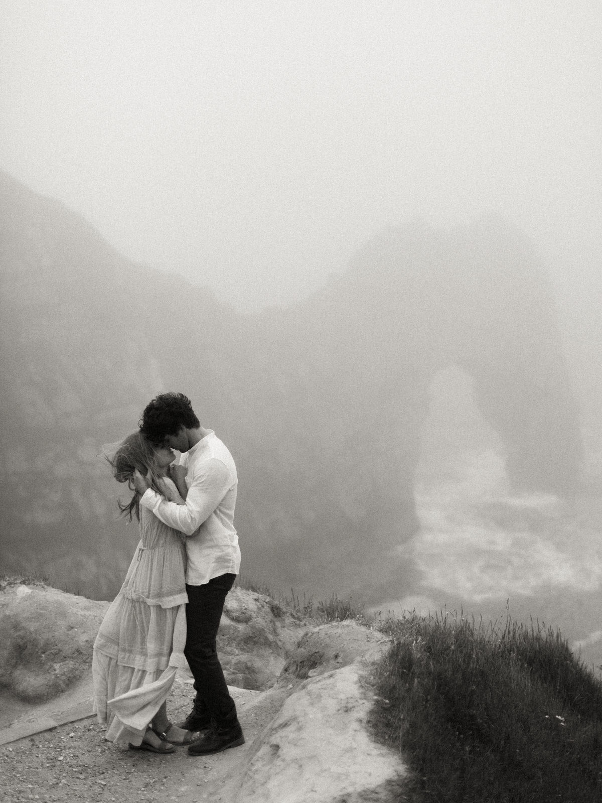 durdle door engagement shoot